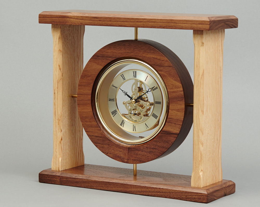 Woodworking Clocks With Simple Style