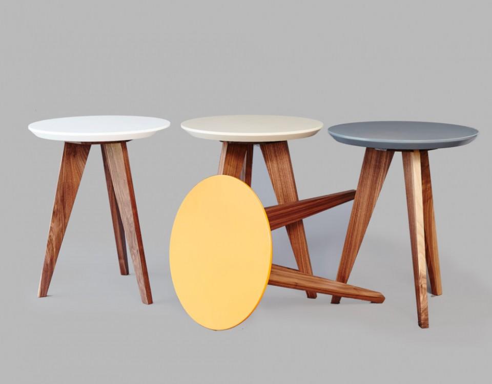 Beveledge, side tables