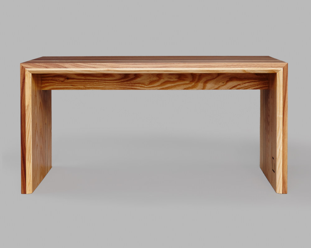 Walnut And Ash Coffee Table Beveledge
