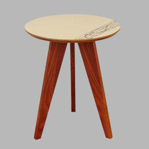 Beveledge wooden table